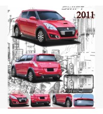 SWIFT 2011 UP ZERCON BODY KIT