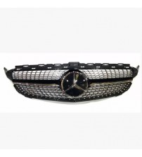 Benz C Class w205 Diomand Look Front Grill