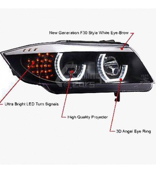 BMW 3 Series E90 Projector Head Light