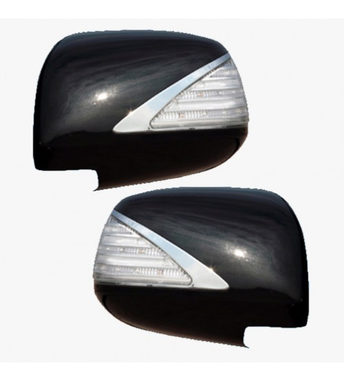Fortuner 2011 Mirror Cover W/Wel Cover Lamp Black FITT