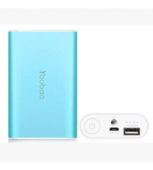 Yoobao YB S3 Power Bank 6000 mAh Blue