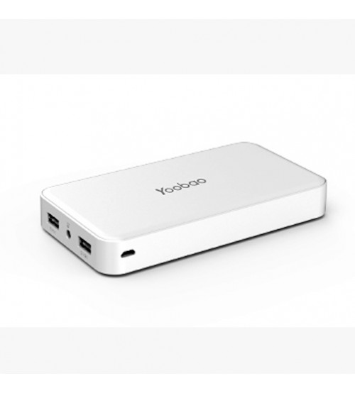 Yoobao M20 Power Bank 20000 mAh White