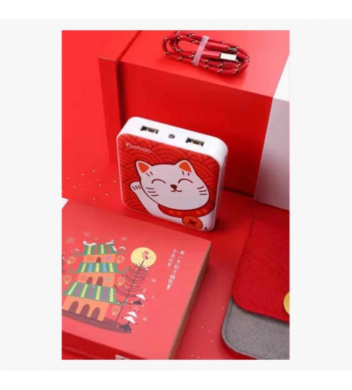 YB 6024 10,400mAh Power Bank_Cat Queen