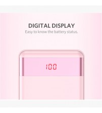 PL12Pro 12,000mAh Power Bank_Pink