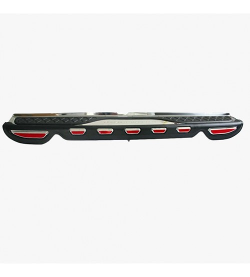 Fortuner 2011 Rear Bumper Foot Plate W/LED